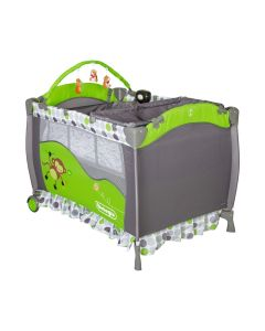 Cuna Pack & Play con Mudador Bebeglo RS-6190-5 Verde