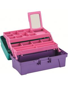 "Caja Organizadora Vanity 14"" Rimax Lila"