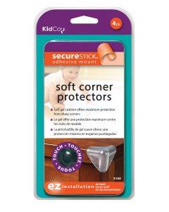 Protectores de Gel para Esquinas  (4 u.) KidCo S144 Claro