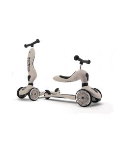 Scooter 2 en 1 Highwaykick 1 Scoot and Ride S215 Ceniza