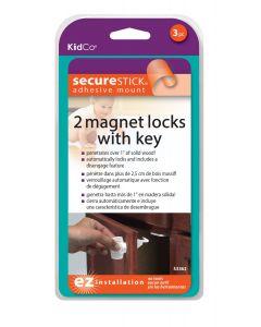 Bloqueador Magnético para Puertas (2 u.) KidCo S3362 Blanco