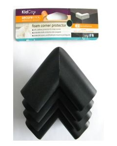 Protectores para Esquinas (4 unidades) KidCo S381 Negro