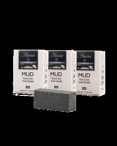 Pack 3 Jabón Shemen Amour Mineral Soap Black Mud
