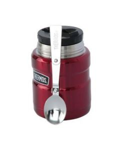 Termo Comida Thermos King Acero Inoxidable  470 ml Metálico