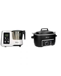 Robot Cocina Kitchen Pro + Olla Multicooker 5 En 1 Easyways