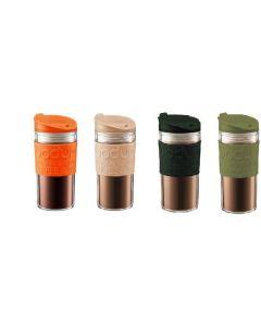 Set 4 Mug  Bodum Colores doble pared  350cc