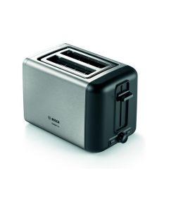 Tostador Compacto Bosch DesignLine Inox Negro Styline