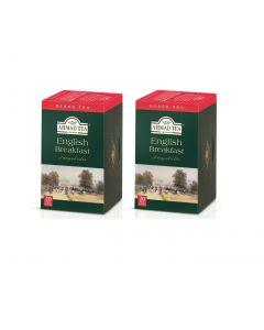 Té en Bolsa Ahmad Tea Teabag English Breakfast 2 Cajas 20U