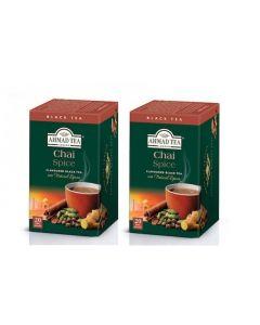 Té en Bolsa Ahmad Tea Teabag Chai Spice 2 Cajas 20U
