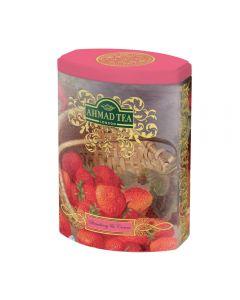 Te En Hojas Ahmad Tea FTC Strawberry & Cream Tarro 100 Gr