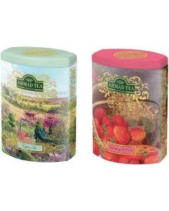 Te En Hojas Ahmad Tea FTC Ceylan + Strawberry&Cream 2x 100gr