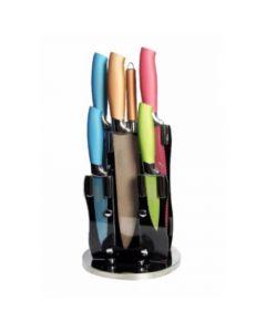 Set Cuchillos Thomas TH-01T Taco Pedestal Giratorio 8 piezas