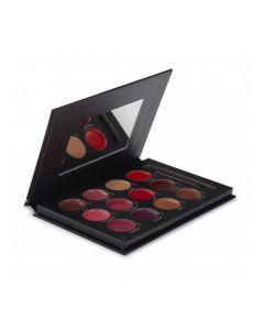 Paleta de labios Bellapierre de 12 colores Pro