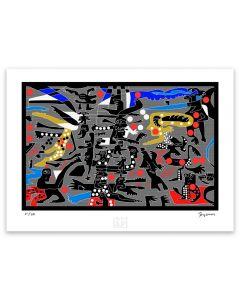 Totoy Zamudio - ¿Estás seguro Artefactory (Lámina) Imp. Giclée