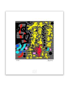 Totoy Zamudio- Elmer… Artefactory (Lámina) Imp. Giclée