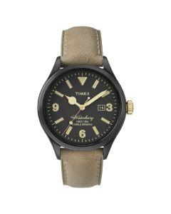 Reloj Análogo Hombre Timex TW2P74900 Pulsera de Cuero Café