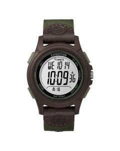 Reloj Digital Hombre Timex TW4B10000 Pulsera Lina Verde