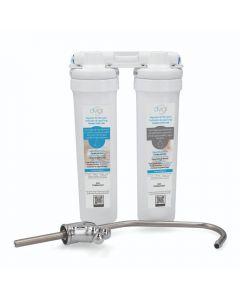 Filtro Purificador De Agua DVIGI Ultrafiltración Blanco